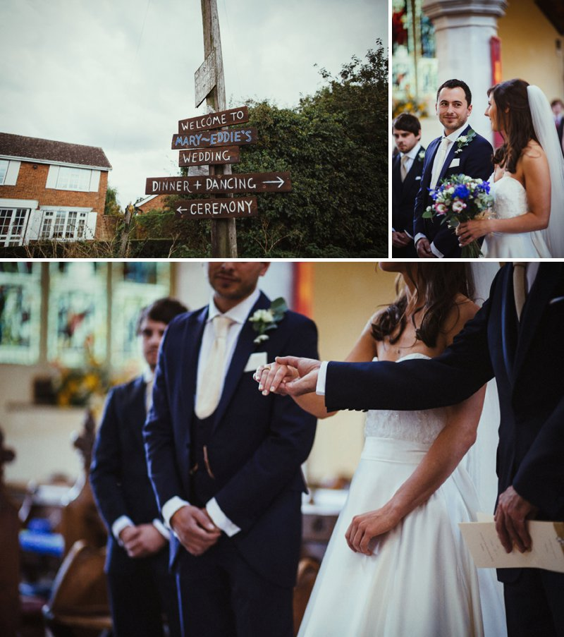A Rustic DIY Wedding In Hitchin Hertfordshire With Bride In Paloma Blanca Gown And Groom In Royal Blue Bespoke Suit From Jack Bunneys With Images From Claudia Rose Carter 2