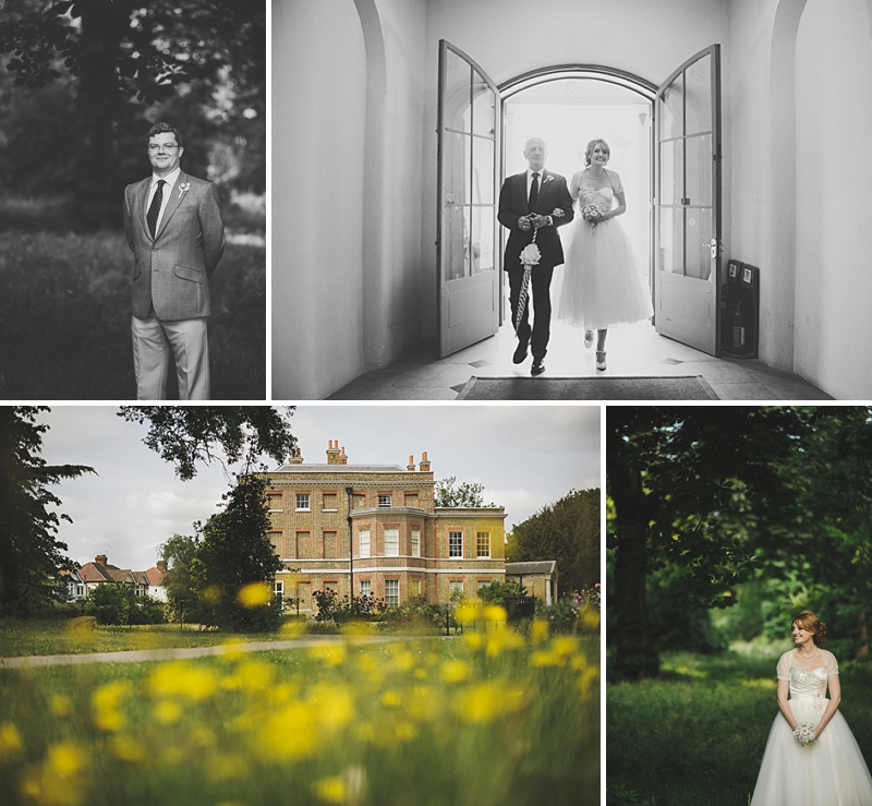 An English country garden tea party wedding with vintage touches at Valentines Mansion. Rachael Simpson shoes and photographs by Rik Pennington_0001