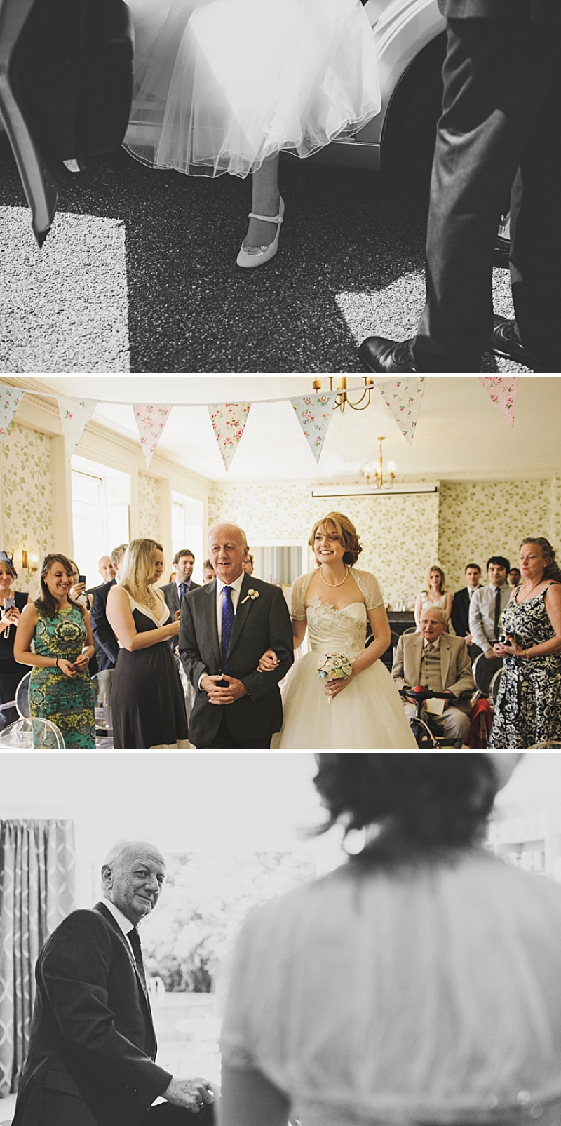 An English country garden tea party wedding with vintage touches at Valentines Mansion. Rachael Simpson shoes and photographs by Rik Pennington_0005