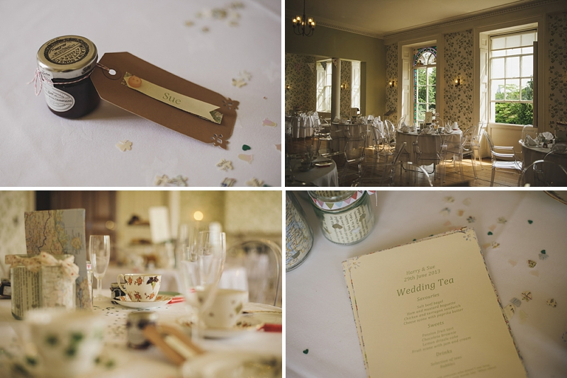 An English country garden tea party wedding with vintage touches at Valentines Mansion. Rachael Simpson shoes and photographs by Rik Pennington_0012