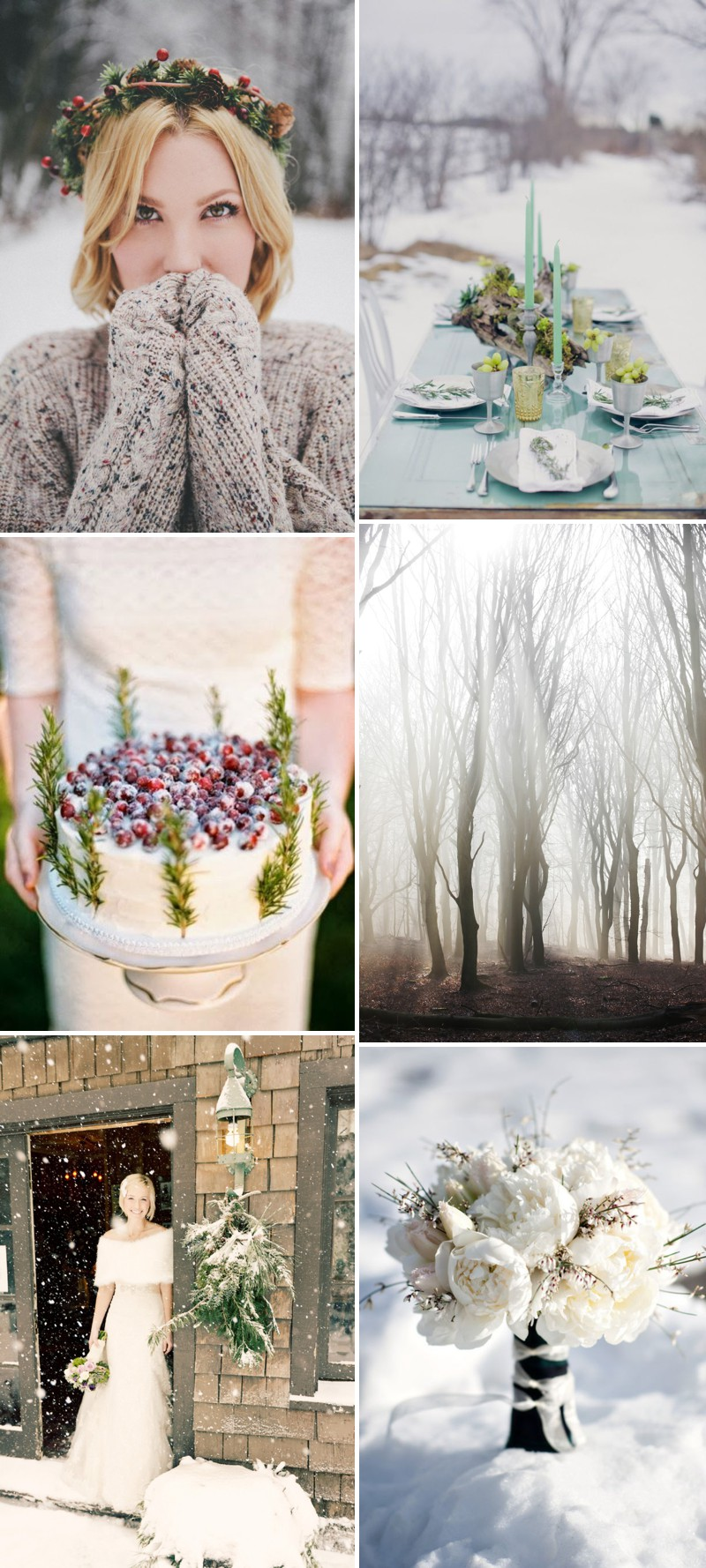 An Exquisite Winter Wedding Theme By Rock My Wedding's Pinterest Competition Winner