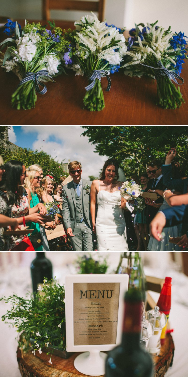 Marquee Wedding In Devon With Bride In Christian Louboutin Shoes With Images From SD Photography 1