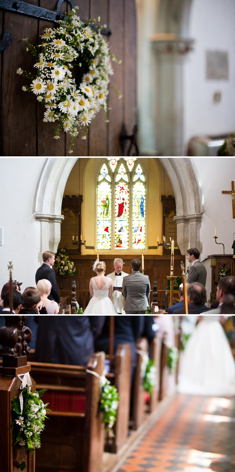 Traditional Church Wedding Of Rock My Wedding Real Bride Rebecca With Bird Cage Veil And Ellis Brides Gown Rolls Royce For Wedding Car And Fabric Flowers For Bouquets And Buttonholes 7