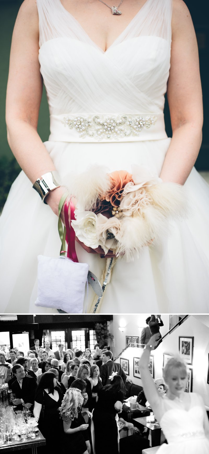 Traditional Church Wedding Of Rock My Wedding Real Bride Rebecca With Bird Cage Veil And Ellis Brides Gown Rolls Royce For Wedding Car And Fabric Flowers For Bouquets And Buttonholes With Groom And Groomsmen In Grey Suits From Debenhams 6