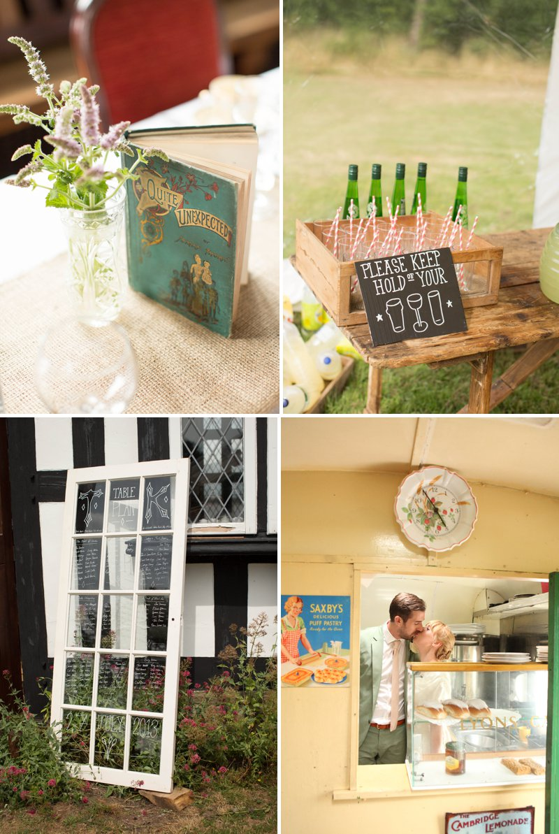 Vintage Inspired Church Fete Themed Wedding At The UKs Largest Village Hall 8