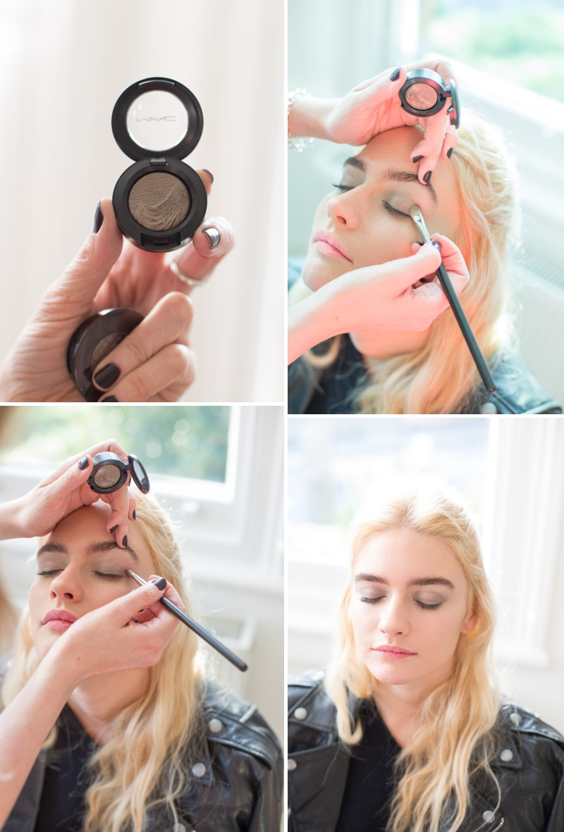 A Bridal Beauty Tutorial Showing Brides How To Create The Perfect Smokey Eye For Your Wedding Day._0003