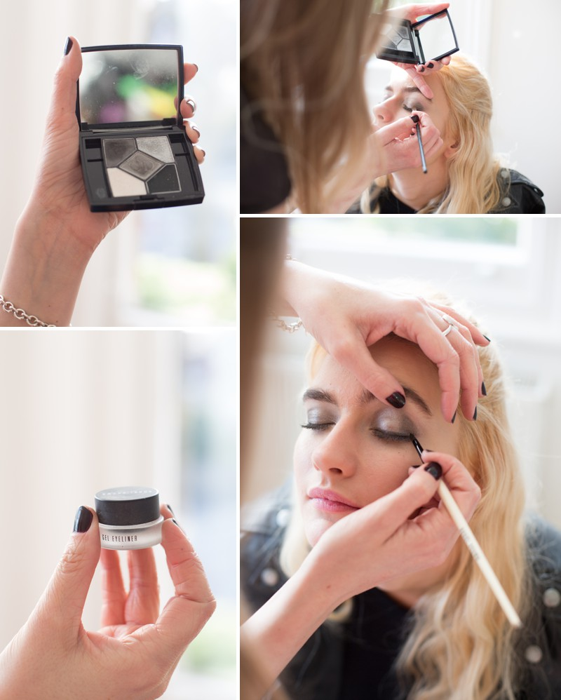A Bridal Beauty Tutorial Showing Brides How To Create The Perfect Smokey Eye For Your Wedding Day._0004