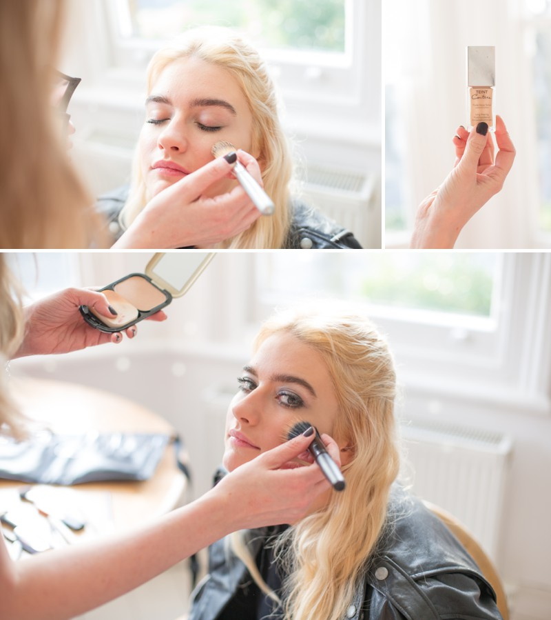 A Bridal Beauty Tutorial Showing Brides How To Create The Perfect Smokey Eye For Your Wedding Day._0006