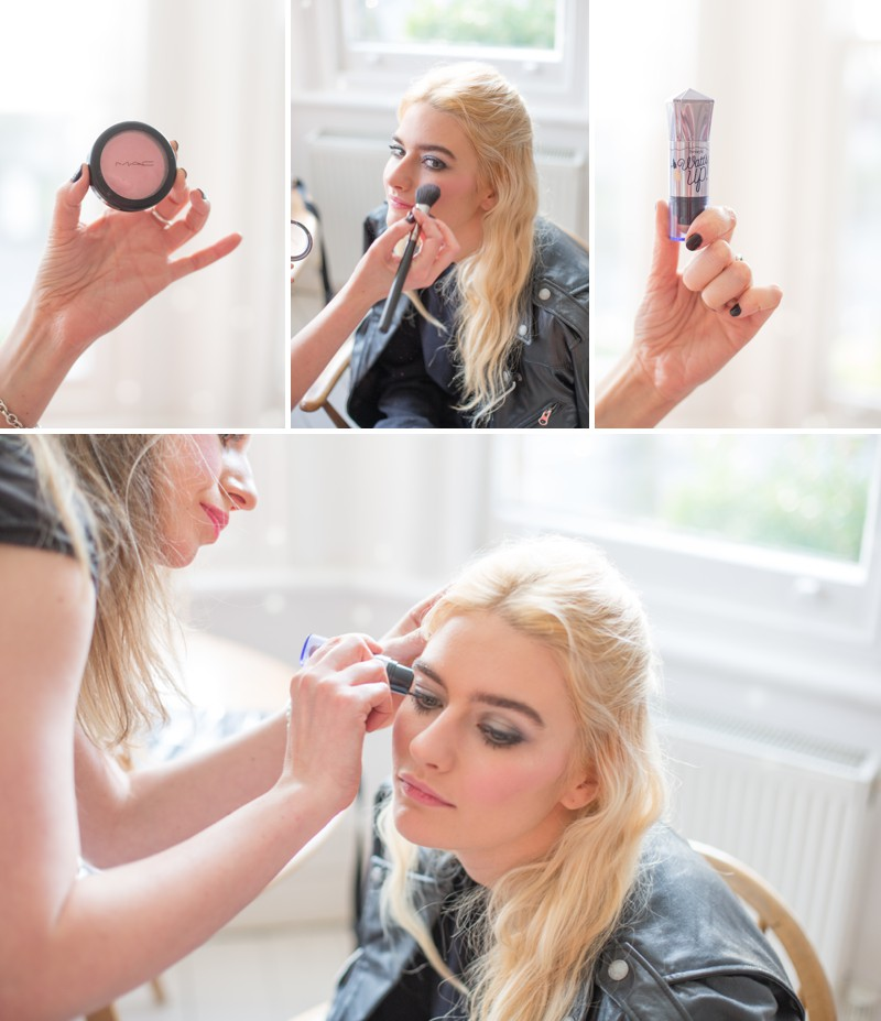 A Bridal Beauty Tutorial Showing Brides How To Create The Perfect Smokey Eye For Your Wedding Day._0007