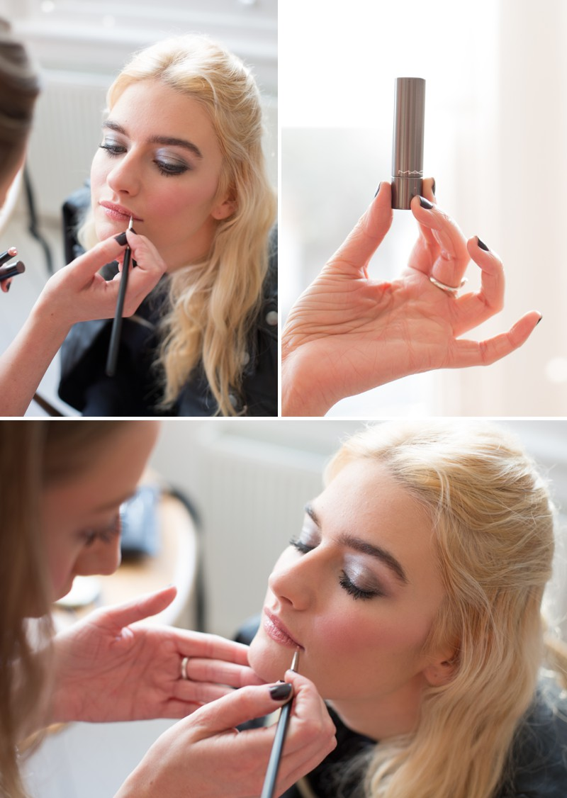 A Bridal Beauty Tutorial Showing Brides How To Create The Perfect Smokey Eye For Your Wedding Day._0008