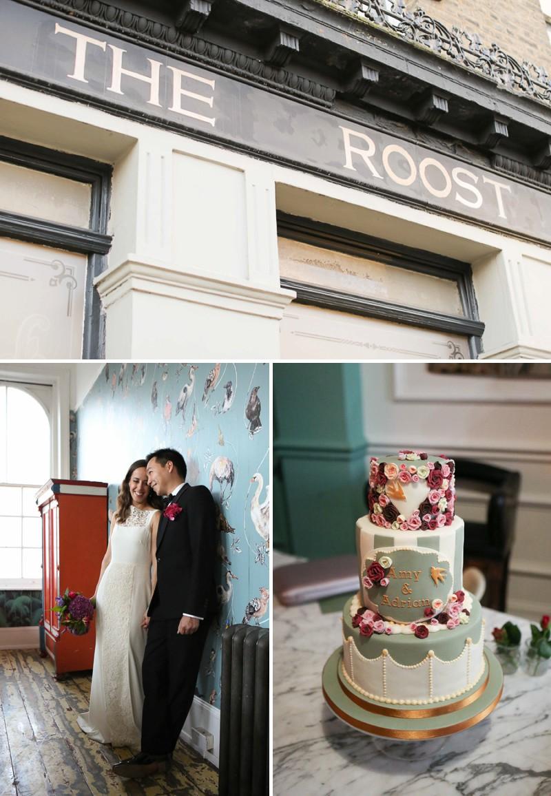 wedding The Roost London alternative wedding photography