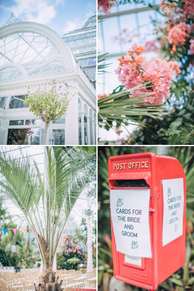 An Exotic Indian and English Fusion Wedding At Sefton Park Palm House In Liverpool With A Beautiful Vintage Lagonda And A Pink Handpicked Bouquet By Wookie Photography._0002