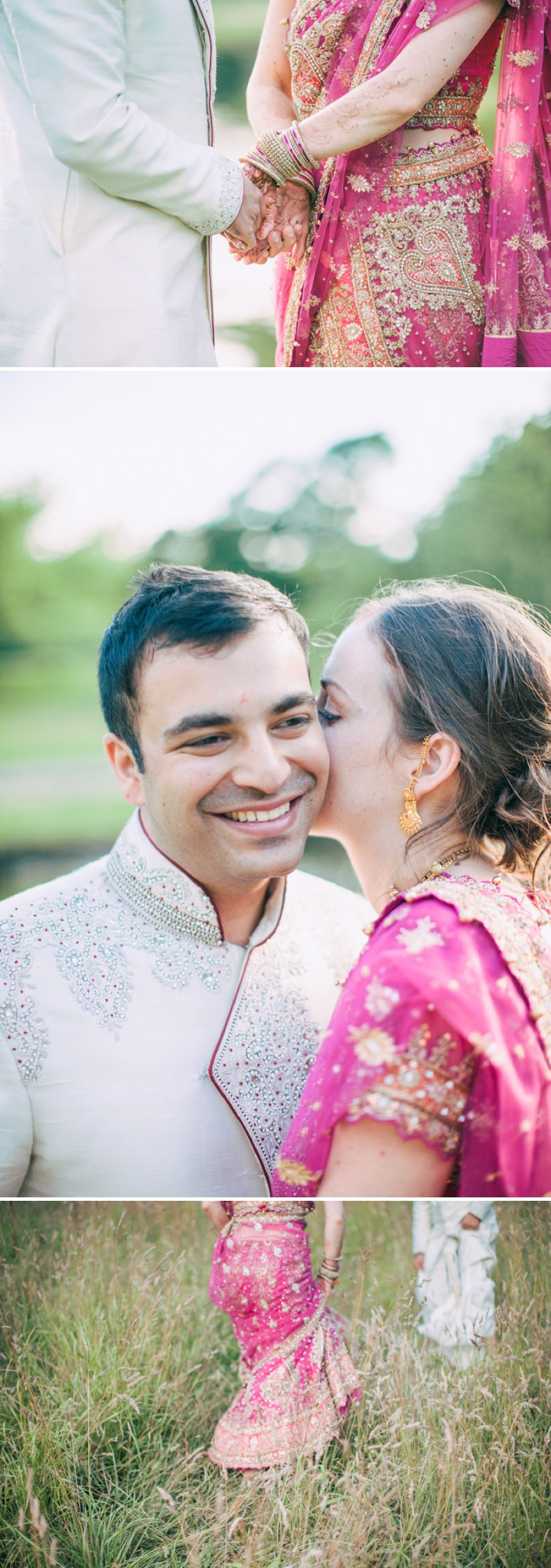 An Exotic Indian and English Fusion Wedding At Sefton Park Palm House In Liverpool With A Beautiful Vintage Lagonda And A Pink Handpicked Bouquet By Wookie Photography._0008