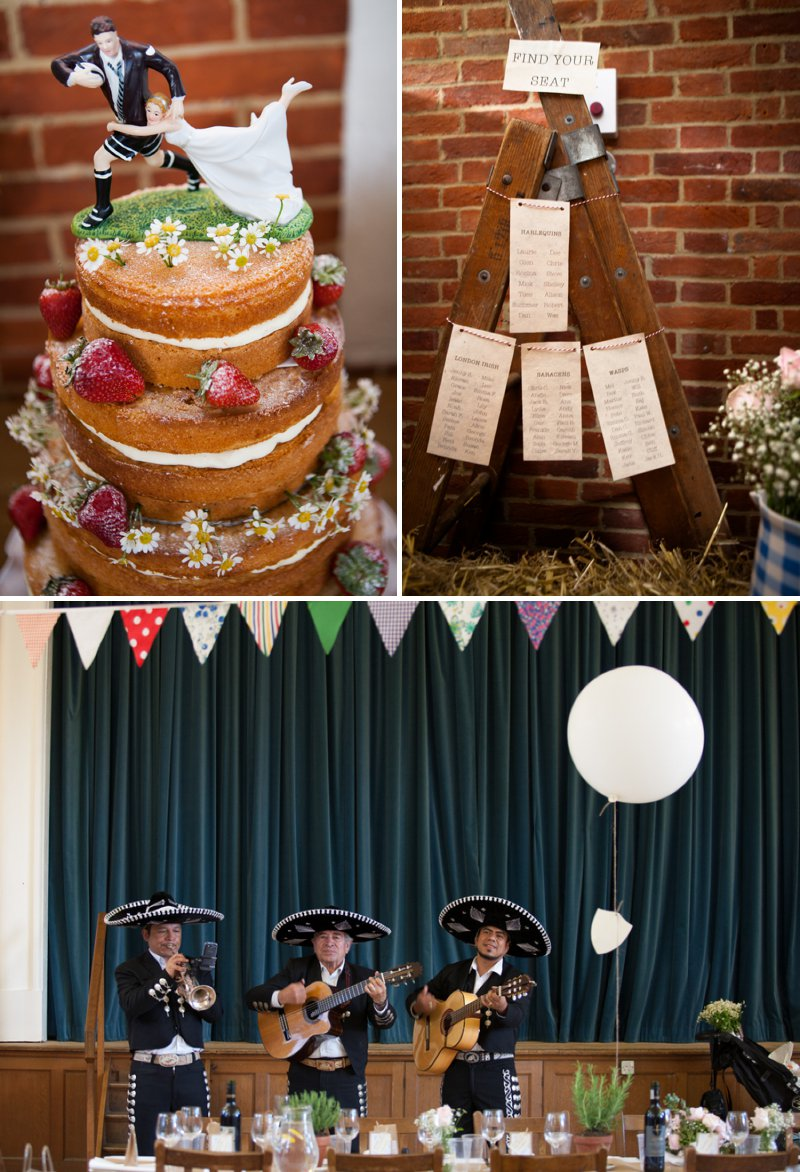 DIY Wedding At Rotherwick Village Hall Hampshire With Bride In Marianne By Naomi Neoh And Ginger By Rachel Simpson Shoes With All Flower Arrangements Made By The Bride And Yellow Details Images By Betti Confetti Photography 1
