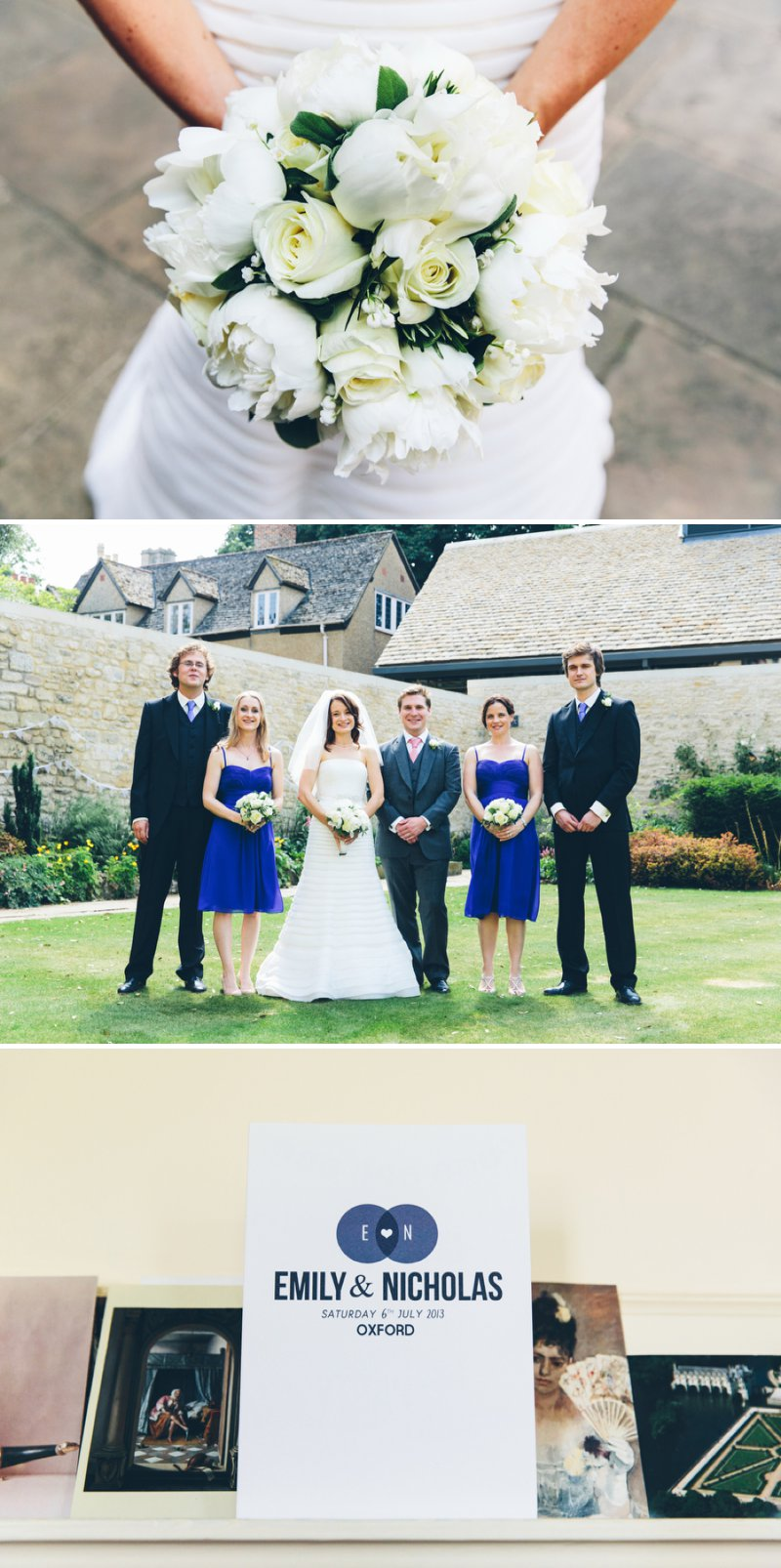 Elegant Contemporary Wedding At The Bodleian Library Queens College Oxford With Bride In Ulanova By Pronovias And Jimmy Choo Heels With Groom In Suit By Cad And The Dandy And Bridesmaids In Royal Blue Images By Mister Phill 1