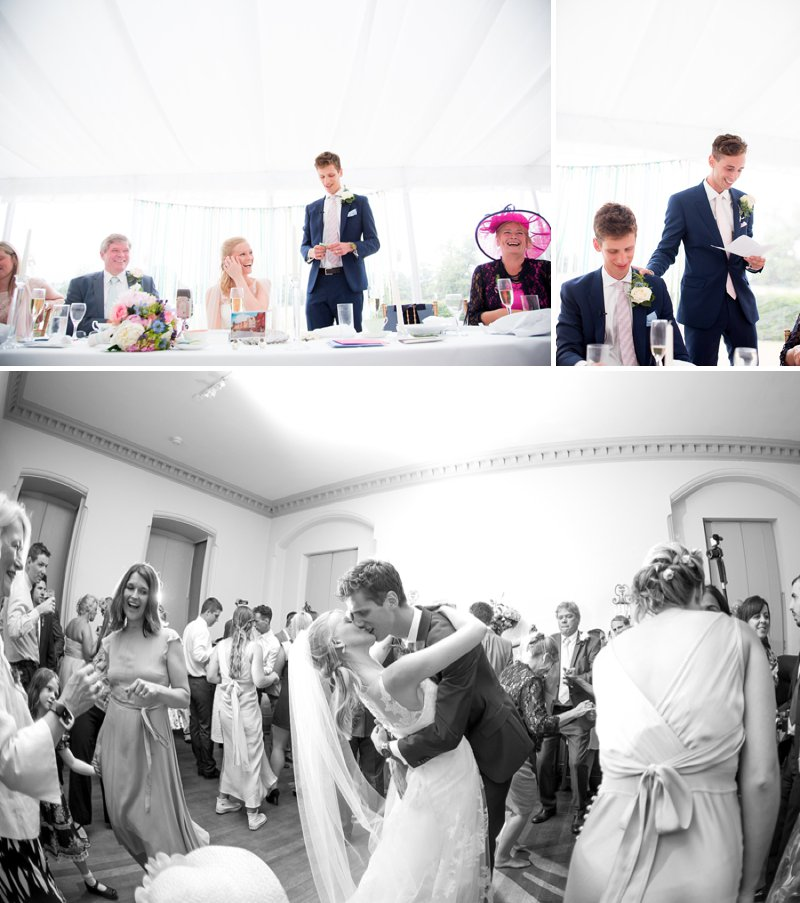 Elegant Country Garden Wedding At Narborough Hall Gardens In Norfolk With Bride In Pronovias Gown And Groom In Reiss Suit With Bridesmaids In Pastel Tone Ghost Dresses And Images From Katherine Ashdown 10