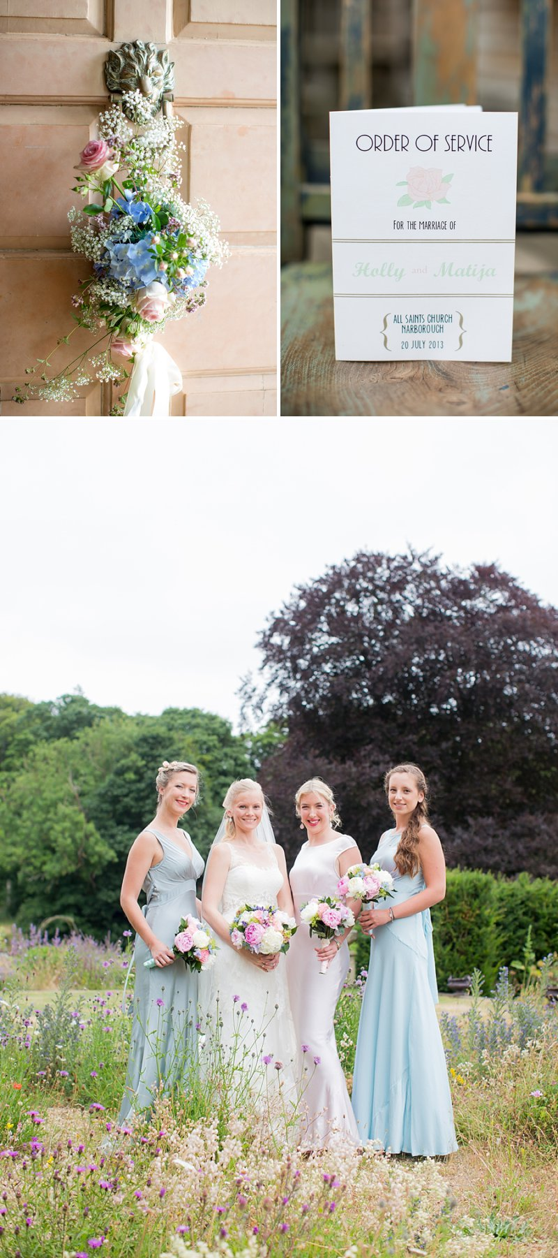 Elegant Country Garden Wedding At Narborough Hall Gardens In Norfolk With Bride In Pronovias Gown And Groom In Reiss Suit With Bridesmaids In Pastel Tone Ghost Dresses And Images From Katherine Ashdown 2