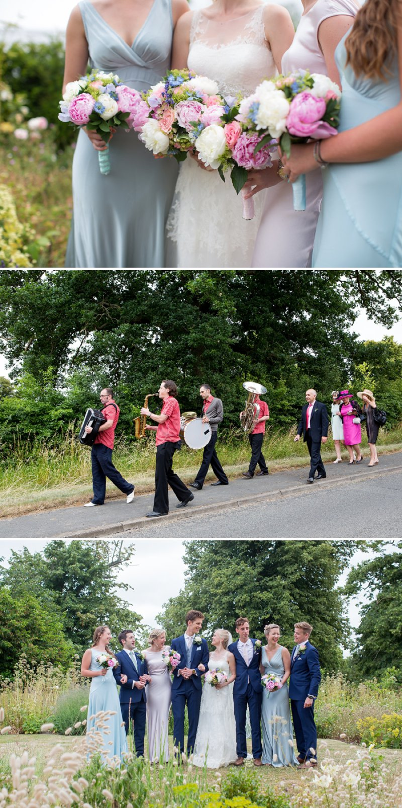 Elegant Country Garden Wedding At Narborough Hall Gardens In Norfolk With Bride In Pronovias Gown And Groom In Reiss Suit With Bridesmaids In Pastel Tone Ghost Dresses And Images From Katherine Ashdown 5