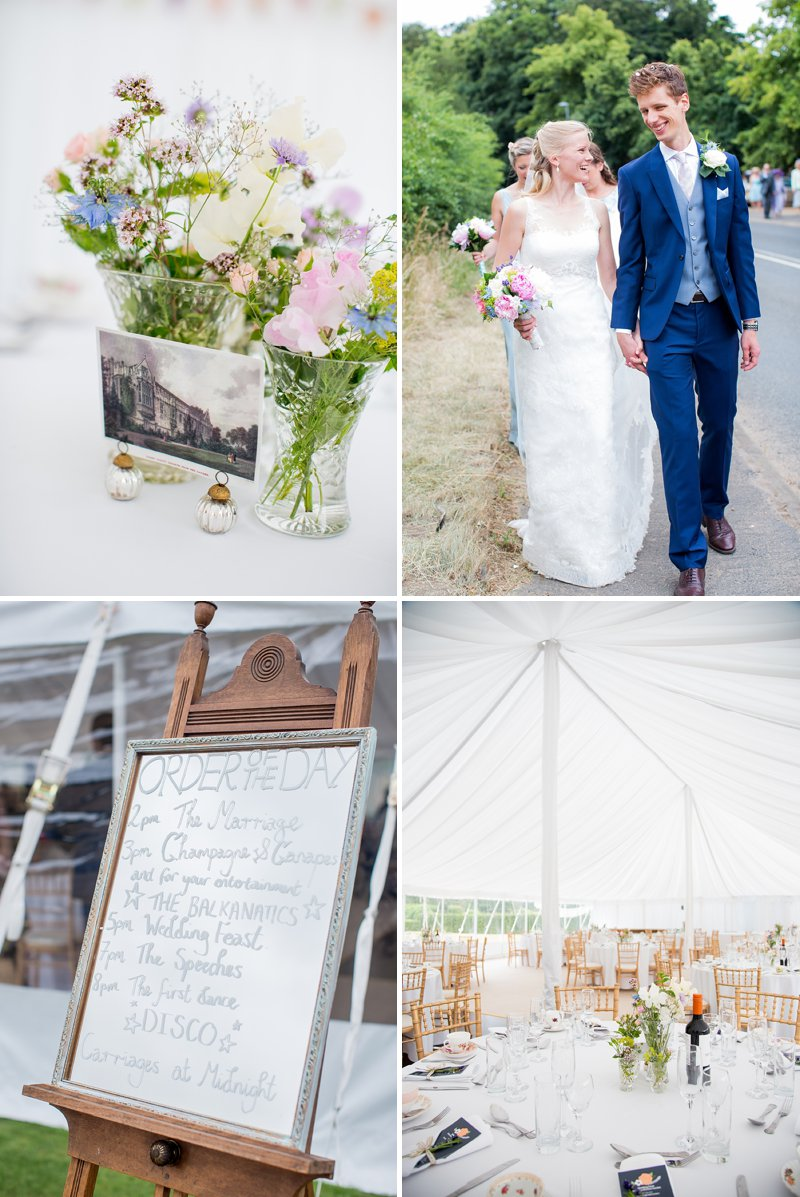 Elegant Country Garden Wedding At Narborough Hall Gardens In Norfolk With Bride In Pronovias Gown And Groom In Reiss Suit With Bridesmaids In Pastel Tone Ghost Dresses And Images From Katherine Ashdown 6