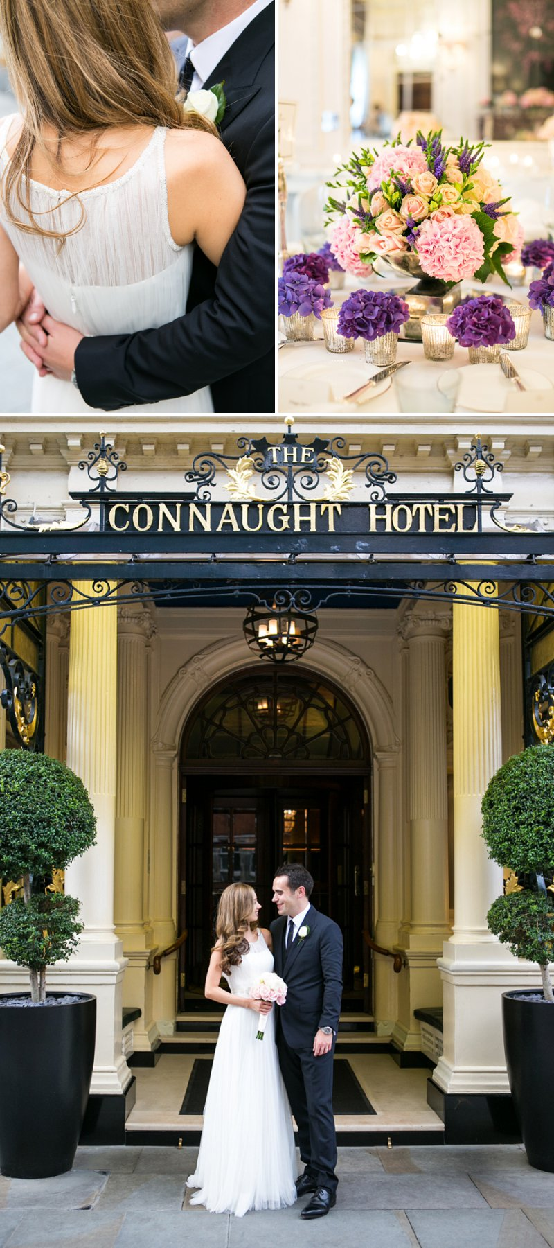 Elegant Wedding At The Connaught Hotel Mayfair With Bride In Derby By Pronovias With Jimmy Choo Sandals And Groom In Navy Suit By D&G With A Colombian Themed Evening Party At Icetank Covent Garden With Images From Anneli Marinovich 1
