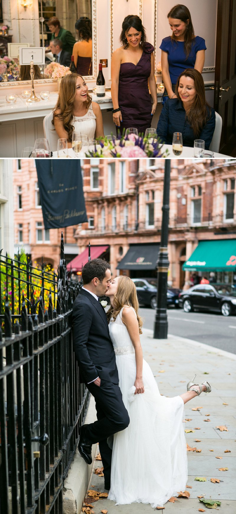 Elegant Wedding At The Connaught Hotel Mayfair With Bride In Derby By Pronovias With Jimmy Choo Sandals And Groom In Navy Suit By D&G With A Colombian Themed Evening Party At Icetank Covent Garden With Images From Anneli Marinovich 5