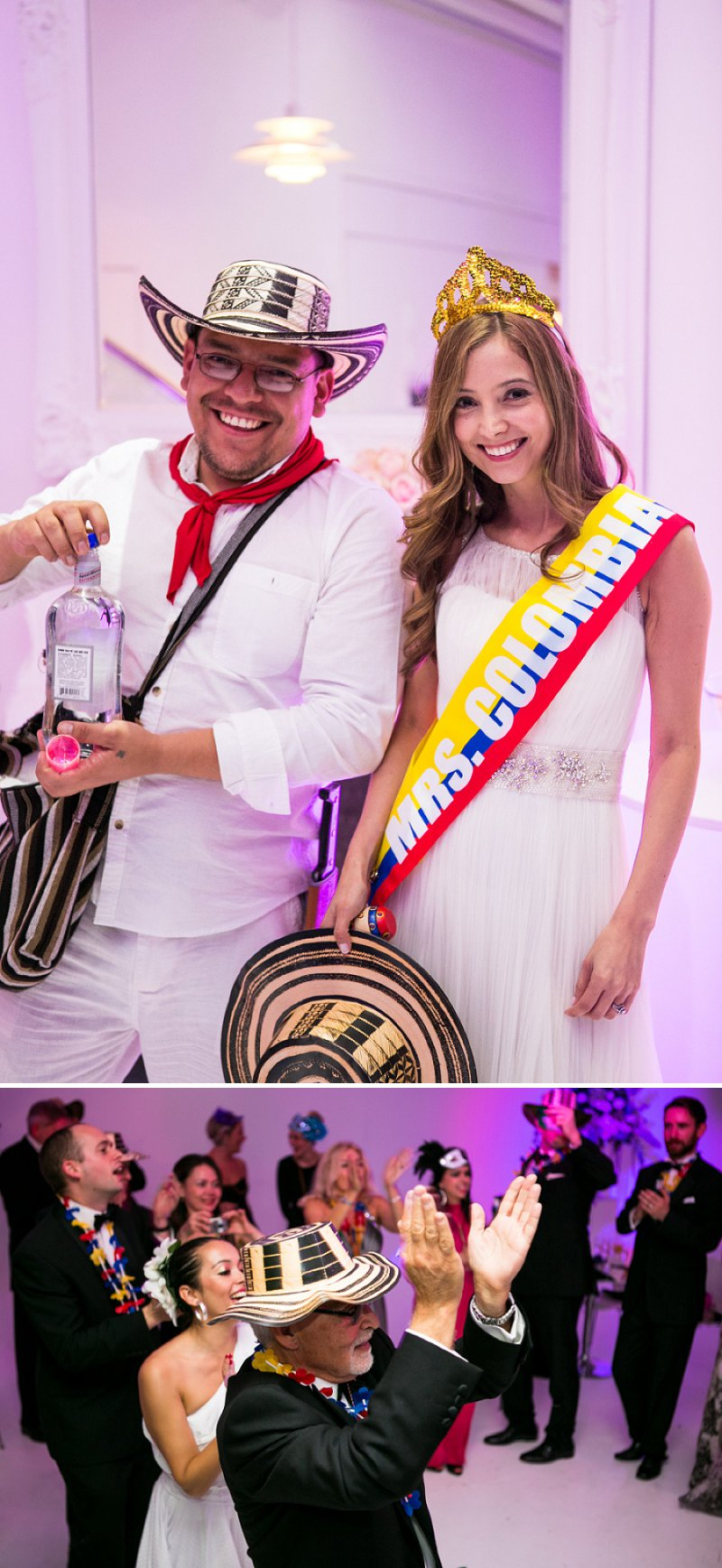 Elegant Wedding At The Connaught Hotel Mayfair With Bride In Derby By Pronovias With Jimmy Choo Sandals And Groom In Navy Suit By D&G With A Colombian Themed Evening Party At Icetank Covent Garden With Images From Anneli Marinovich 9