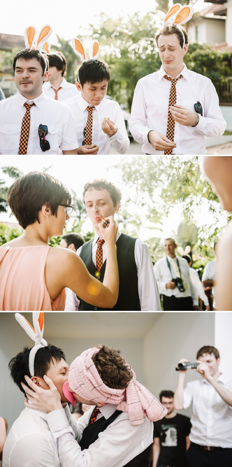 A Beautiful Destination Wedding In Singapore With A Pink And Orange Colour Scheme And A Traditional Chinese Tea Ceremony And White Florals Photographed By Ann-Kathrin Koch._0004