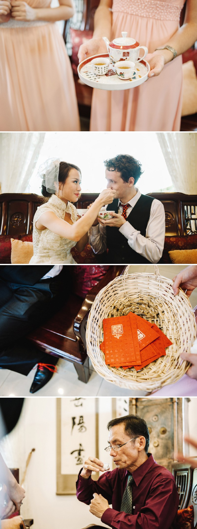 A Beautiful Destination Wedding In Singapore With A Pink And Orange Colour Scheme And A Traditional Chinese Tea Ceremony And White Florals Photographed By Ann-Kathrin Koch._0005