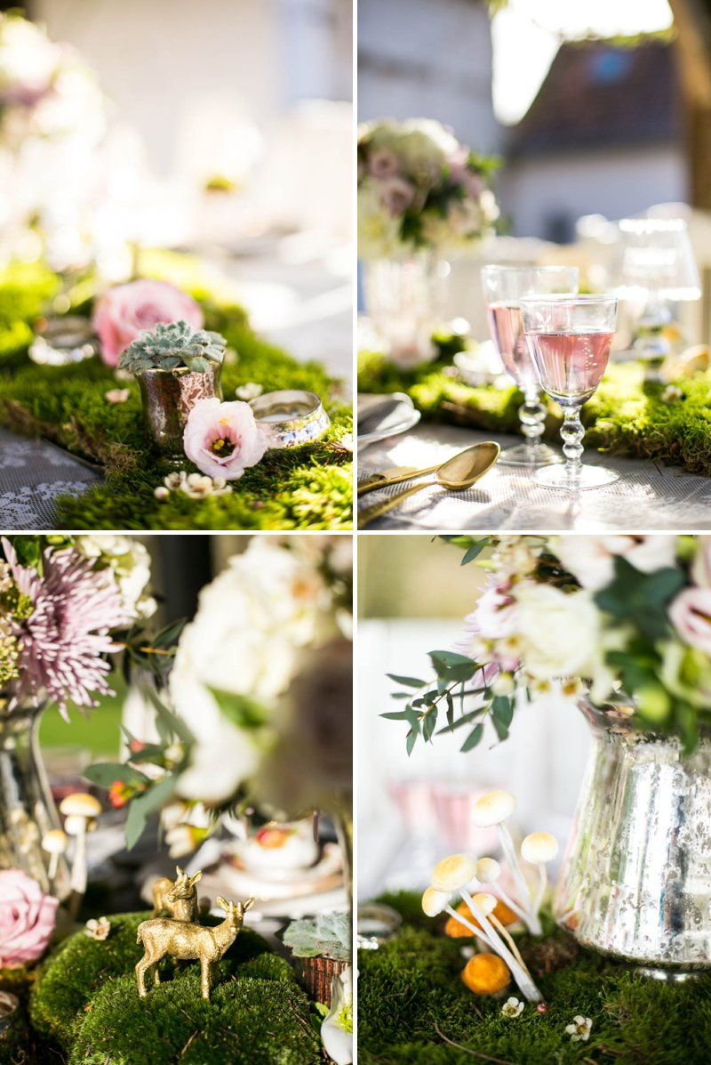 A Romantic And Whimsical Bridal Inspiration Shoot With Johanna Hehir Gowns And Victoria Millesime Accessories With Stationery By Artcadia And Flowers By Boutique Blooms Images From Anneli Marinovich 4