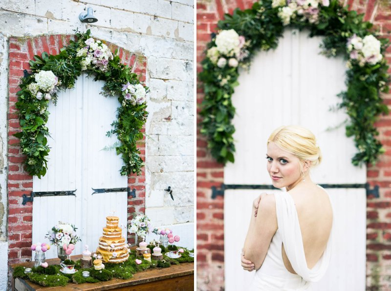 A Romantic And Whimsical Bridal Inspiration Shoot With Johanna Hehir Gowns And Victoria Millesime Accessories With Stationery By Artcadia And Flowers By Boutique Blooms Images From Anneli Marinovich 7