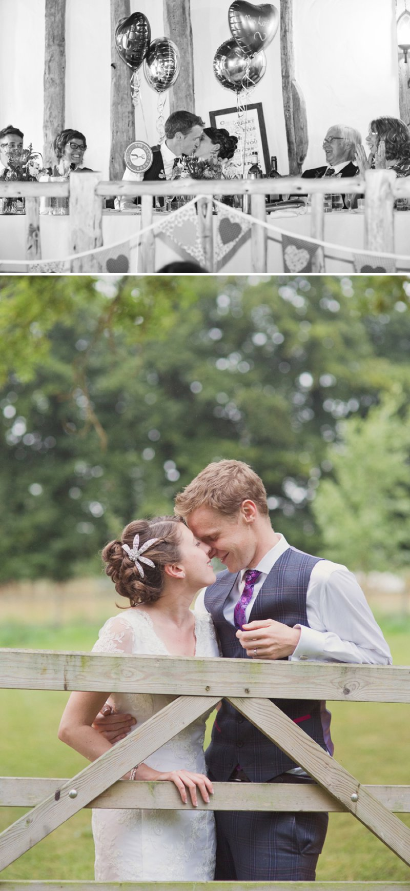 A Rustic Wedding At The Crown Inn Pishill With Bride In Bespoke Lace Gown And Groom In Tweed Suit From Clements And Church With Bunting And An Vintage VW Campervan Images From Cotton Candy Wedding Photography 10