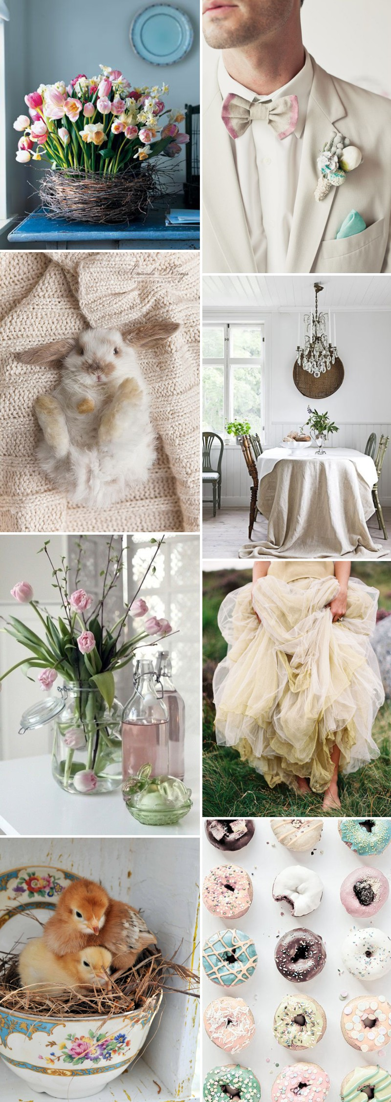 Beautiful And Unique Wedding Inspiration For Your Easter Wedding With Spring Centrepieces And Florals And Colourful Decor._0003