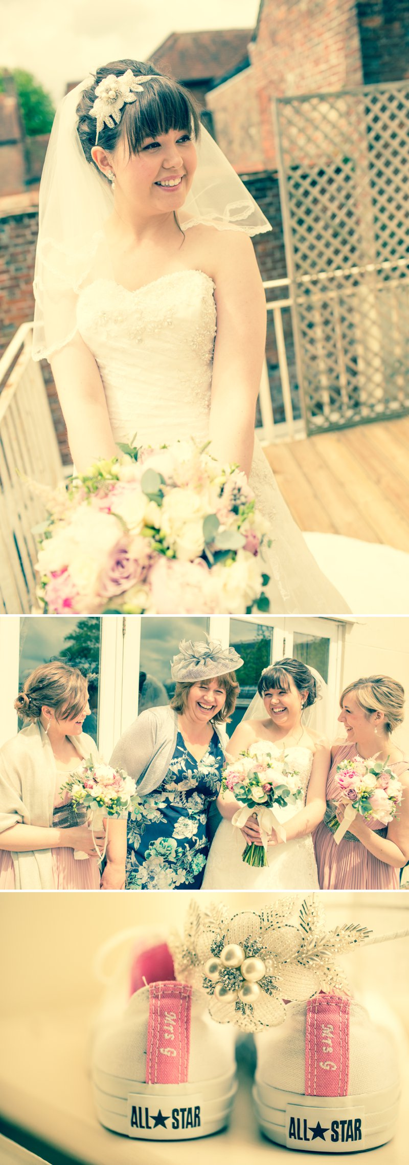 Elegant Wedding At Stanwell House Hotel In Hampshire With Bride In Phil Collins Bridal Gown And Groom In Moss Suit With A Blush Pink Colour Scheme And Comic Book Hero Details Images From Beki Young Wedding Photography 1