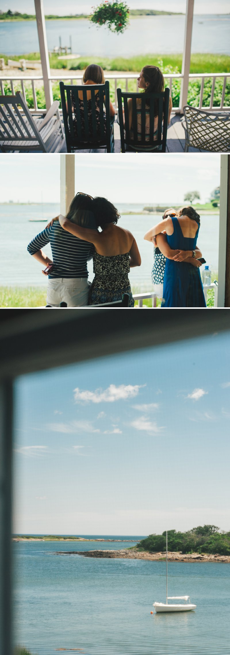 Elegant Wedding By The Sea In Maine USA With Bride In J Crew Dress And Groom In Navy Banana Republic Suit With An Outdoor Ceremony At The Brides Family Home With Beautiful Photography From Rebekah J Murray 3