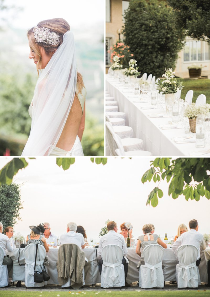 Elegant Wedding In Italy At The Locanda del Pilone Hotel And Restaurant With Bride In Julianne By Jenny Packham And Groom In Tom Ford Suit With A Five Course Italian Banquet 1