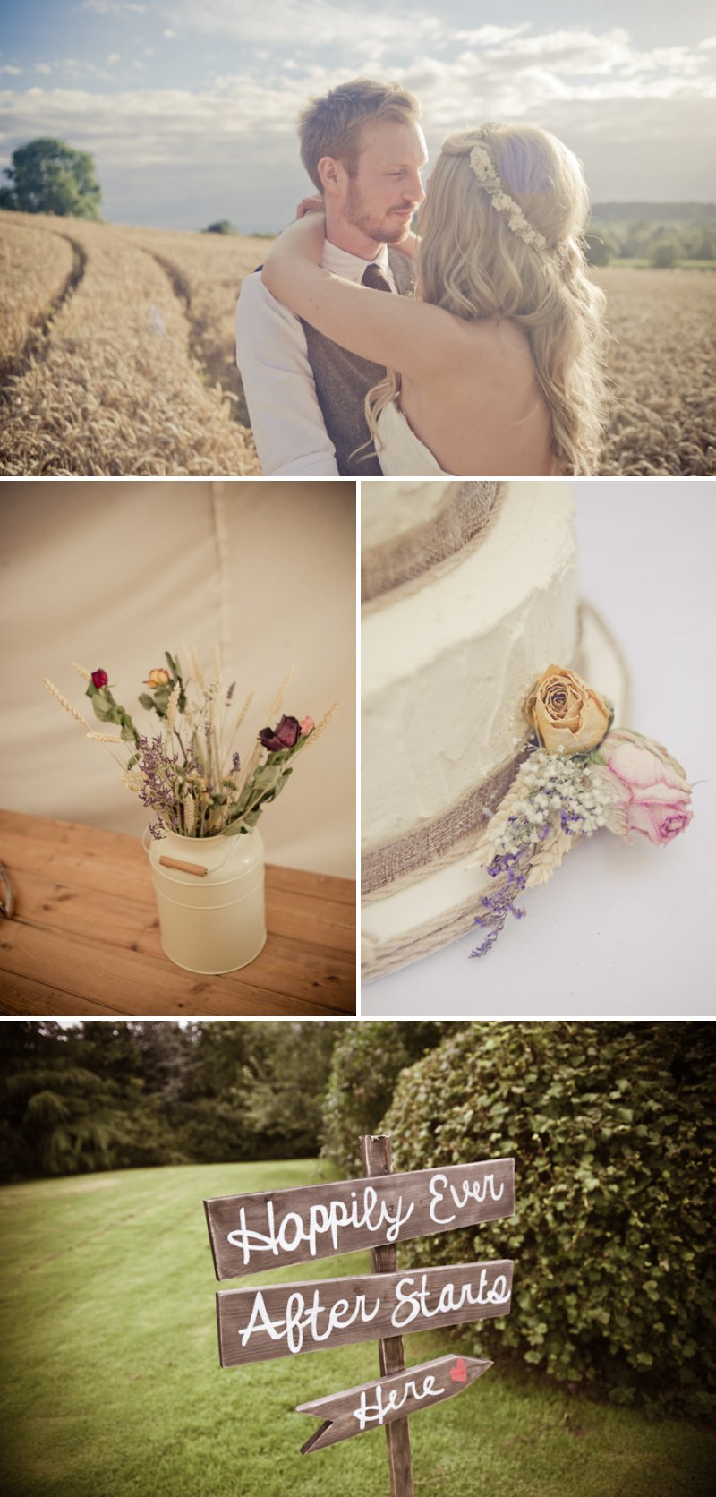 Rustic Wedding At Newton House In Derbyshire With Bride In Sophia Tolli Gown With A Dried Flower Headpiece From The Artisan Dried Flower Co And Groom In Tweed Waistcoat With Images From Jake Morley 1