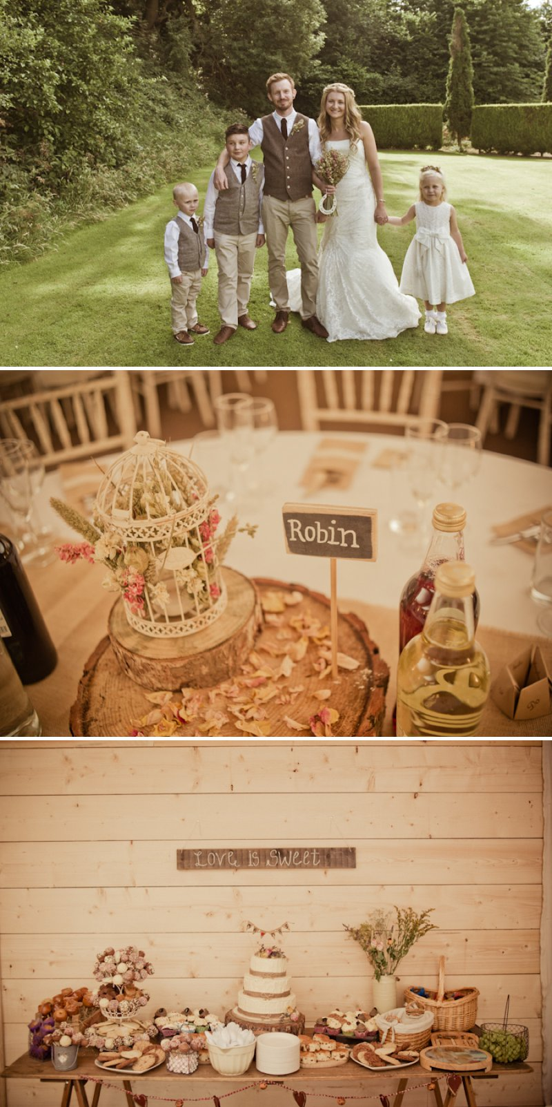 Rustic Wedding At Newton House In Derbyshire With Bride In Sophia Tolli Gown With A Dried Flower Headpiece From The Artisan Dried Flower Co And Groom In Tweed Waistcoat With Images From Jake Morley 7