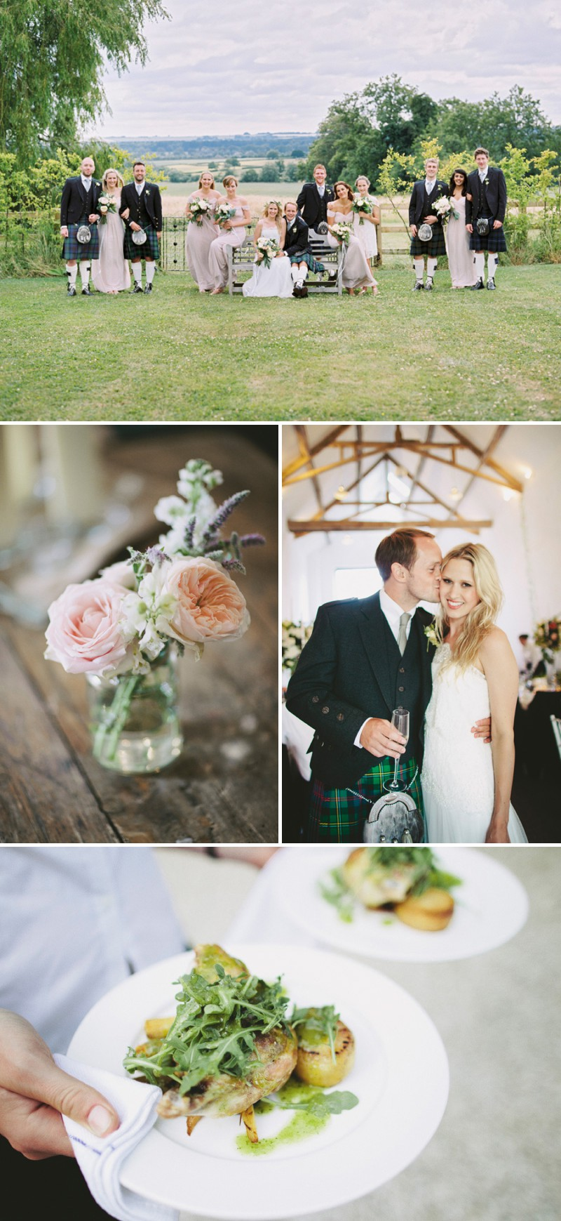 A Beautiful Back Garden Wedding At Merriscourt With A Neutral Pastel Colour Scheme And A Jesus Piero Dress And A Peony Bouquet By David Jenkins Photography._0010