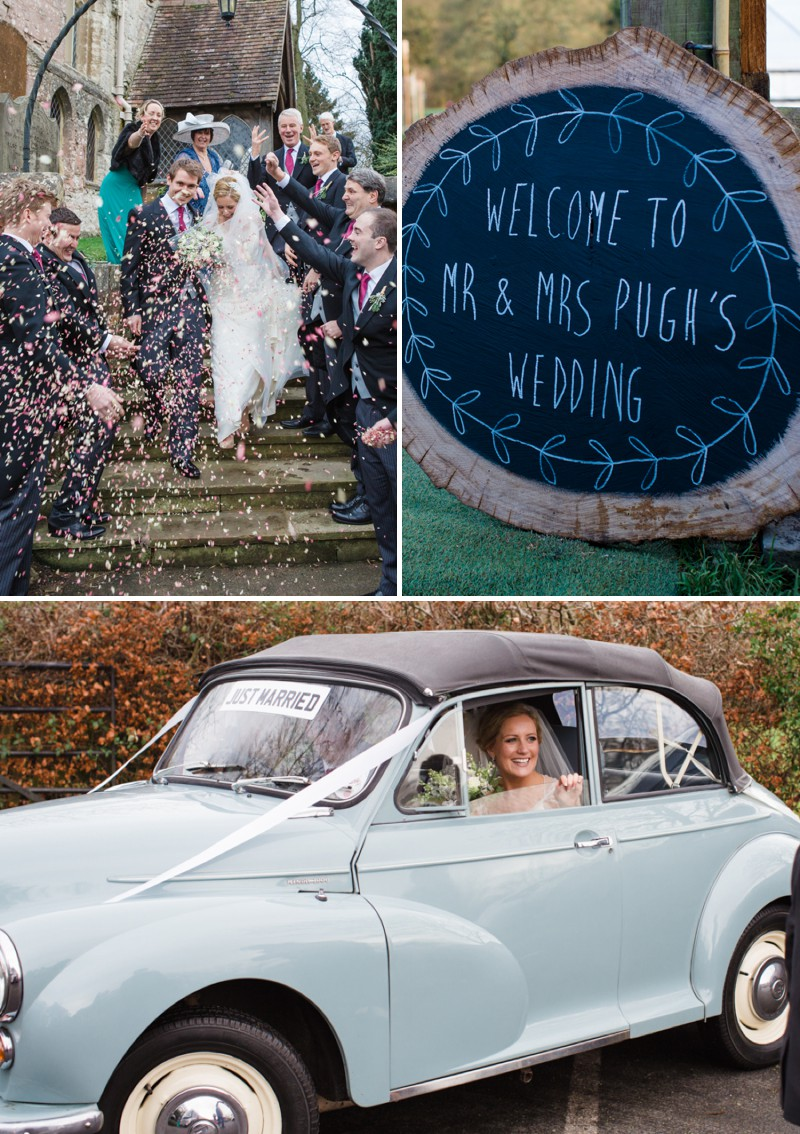 A Warm Winter Glamorous Rustic Wedding With A Jenny Packham Dress And Blue Toned Bouquet With Photography By Lucy Davenport._0006