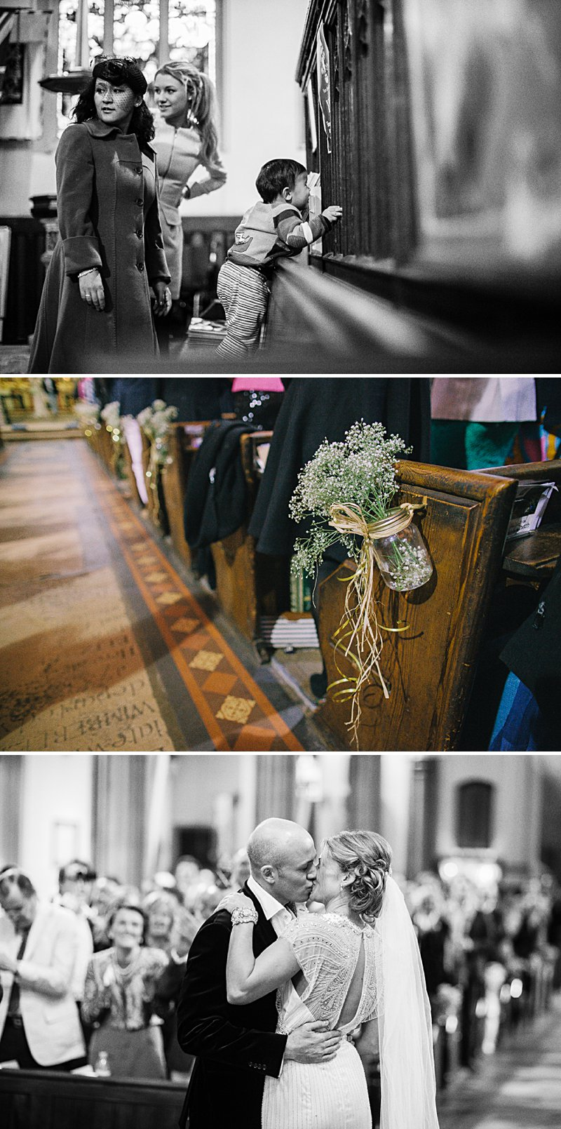 A cool and contemporary english city wedding in London with Jenny Packham dress and lots of DIY home made elements. Bridesmaids in Coast and Photography by Chris Barber_0006