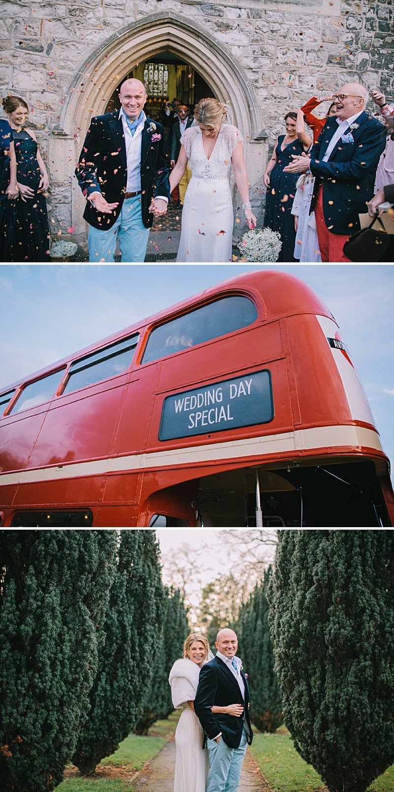 A cool and contemporary english city wedding in London with Jenny Packham dress and lots of DIY home made elements. Bridesmaids in Coast and Photography by Chris Barber_0007