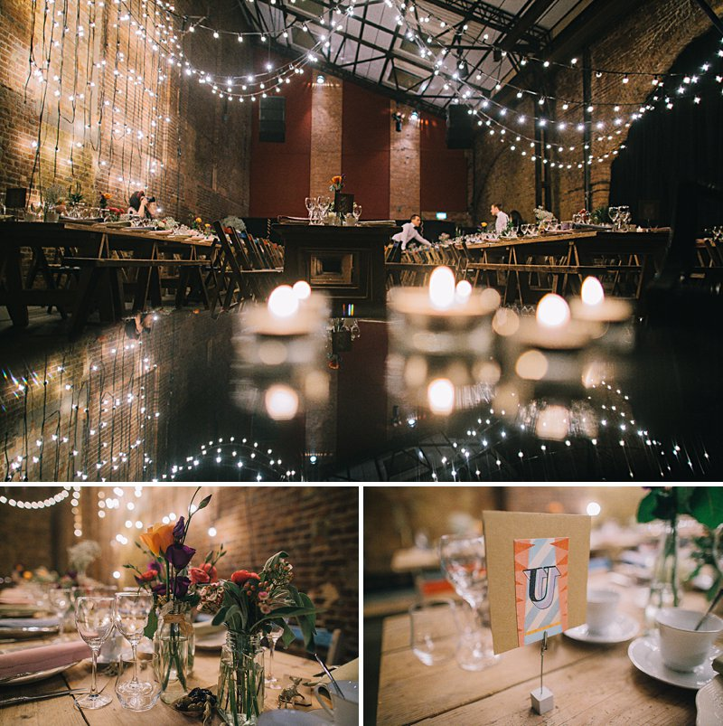 A cool and contemporary english city wedding in London with Jenny Packham dress and lots of DIY home made elements. Bridesmaids in Coast and Photography by Chris Barber_0011