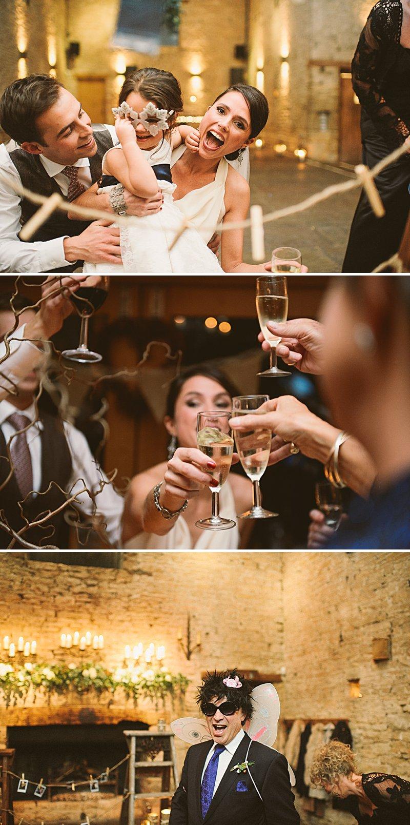 Lisa & Alex's wedding at Cripps Barn