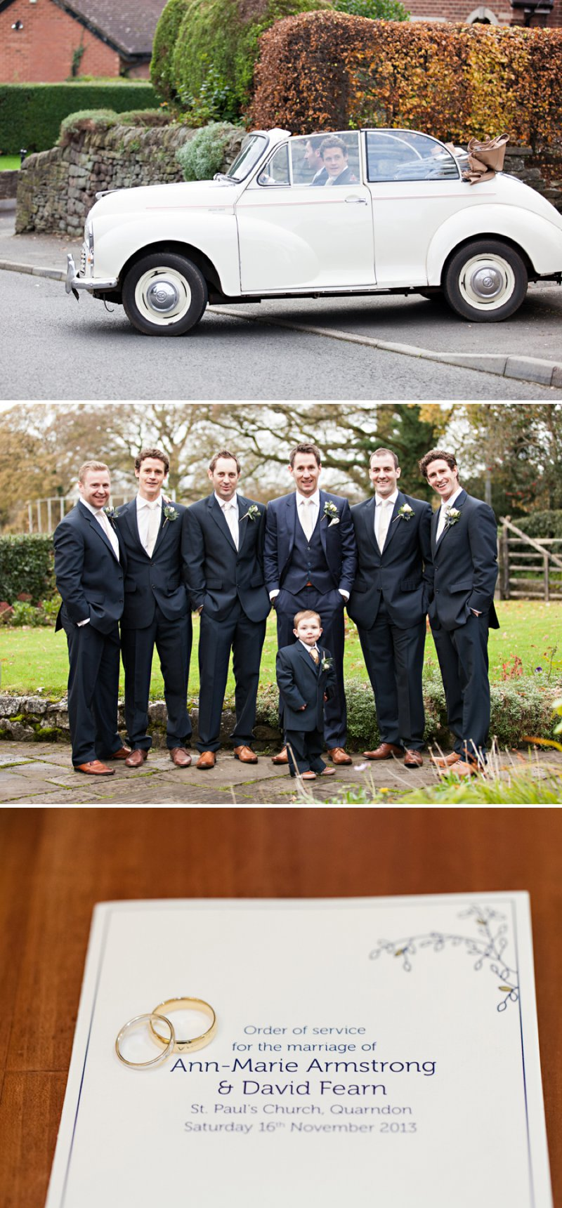 Elegant Vintage Inspired Wedding At Shottle Hall In Derbyshire With Bride In Essense Of Australia Gown With Miu Miu Shoes And Groom In Ted Baker Suit With A Vintage Jaguar Car 3