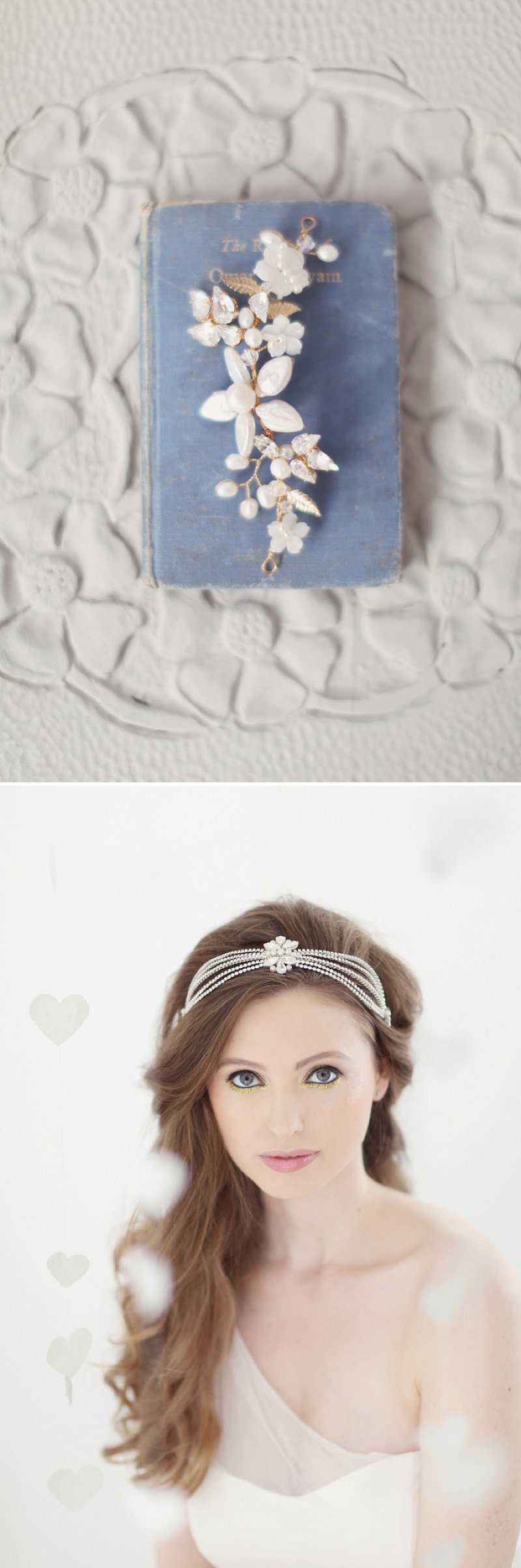 Pastel Valentines Day Inspired Bridal Shoot Featuring Hair Accessories From Corrine Smith Design With Flowers From I Heart Flowers And Images By Eva Sanders Photography 10