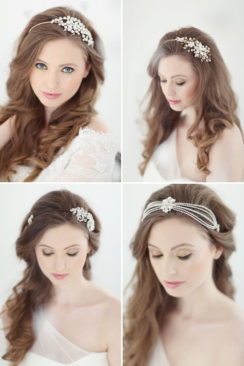 Pastel Valentines Day Inspired Bridal Shoot Featuring Hair Accessories From Corrine Smith Design With Flowers From I Heart Flowers And Images By Eva Sanders Photography 6