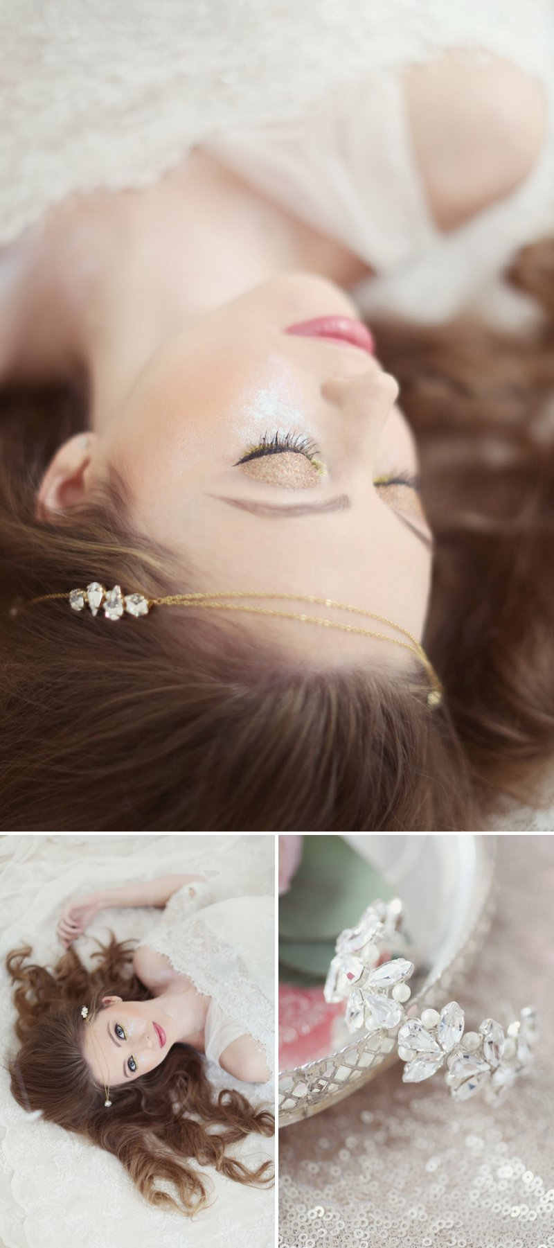 Pastel Valentines Day Inspired Bridal Shoot Featuring Hair Accessories From Corrine Smith Design With Flowers From I Heart Flowers And Images By Eva Sanders Photography 7