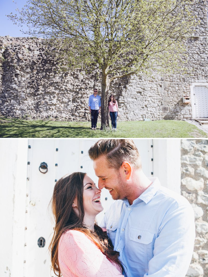 A Pretty Spring Engagement Shoot Under The Cherry Blossom Trees In Rochester Kent With Images By Lemonade Pictures 4