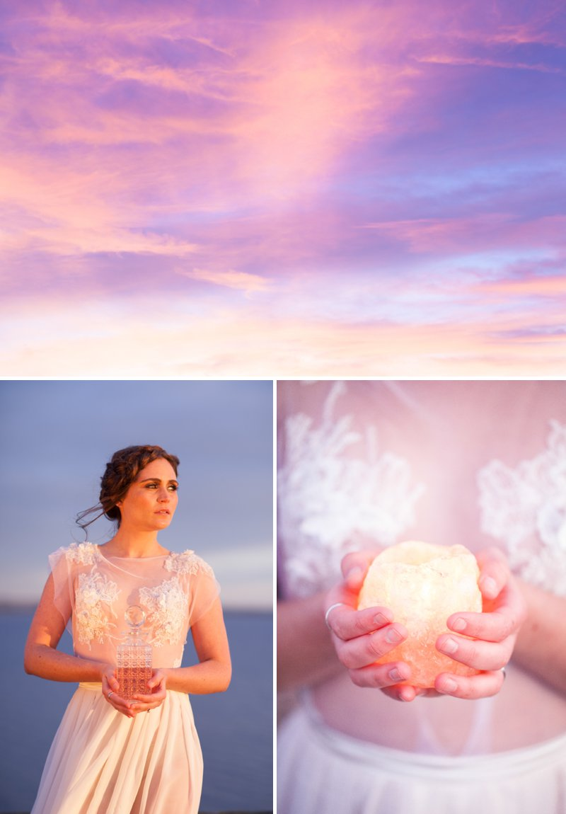 A Romantic Bridal Inspiration Shoot Inspired By Long Distance Love And Waiting For Your Loved One To Return Images By Light And Lace Photography10