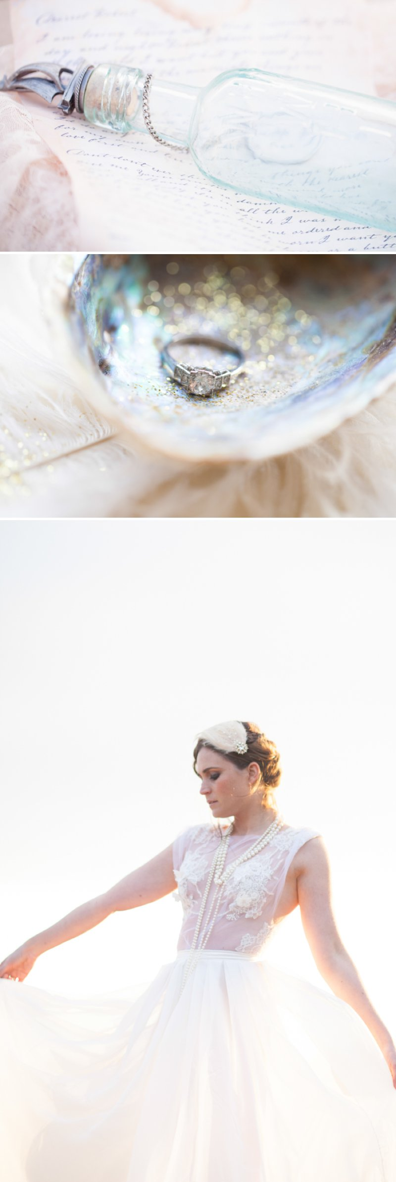 A Romantic Bridal Inspiration Shoot Inspired By Long Distance Love And Waiting For Your Loved One To Return Images By Light And Lace Photography5
